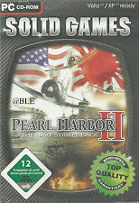 CD-ROM + Pearl Harbor II + The Navy Strikes Back + Militär + Stützpunkt + Vista