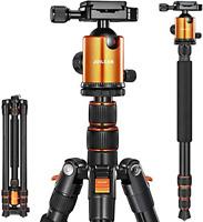 Joilcan 80-inch Tripod for Camera, Aluminum Tripod for DSLR,Monopod, Lightweight