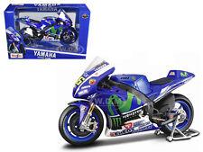 YAMAHA YZR-M #46 2015 GP VALENTINO ROSSI 1/10 MOTORCYCLE MODEL MAISTO 31407 VR