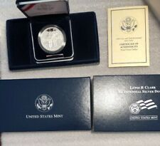 2004 Lewis and Clark Bicentennial Proof Silver Dollar Commemorative Coin