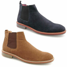 Roamers Chelsea, Ankle Suede Boots for Men