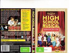 High School Musical-2006-Zac Efron-[2 Disc DVD + Karaoke CD]-Movie-DVD