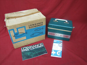 Vintage Lowrance Fish LO-K-TOR Finder Fishing Lure Reel New In Box