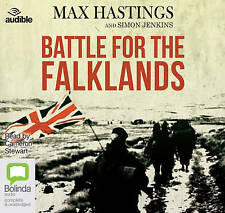 Battle for the Falklands By Sir Max Hastings Read by Cameron Stewart Audio CD
