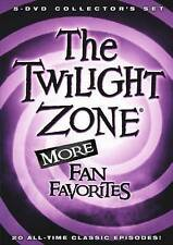 The Twilight Zone: More Fan Favorites (DVD, 2016, 5-Disc Set)
