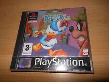 Donald Duck Quack Attack PAL VERSION  Playstation PS1  NEW (SEALED)