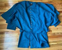 INDIAN WARS SPAN AM US ARMY M1872 ENLISTED GREATCOAT OVERCOAT- SIZE 4 (46-50R)