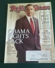 Rolling Stone Magazine ~ Obama Fights Back ~ October 14,2010 Issue 1115