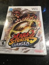 Mario Strikers Charged - Nintendo Wii Brand New Factory Sealed
