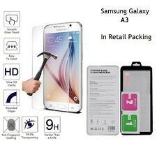 Genuine Tempered Glass Screen Guard Protector For Samsung Galaxy A3 (SM-A300F)