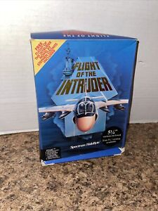 Flight of the Intruder (PC, 1990) VINTAGE BIG BOX WITH MAP And Manuals