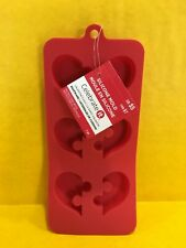 Celebrate It Red Silicone Mold Valentine's Day Heart Puzzle Bakeware New 💔❤️
