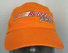 Orange Auto Zone Racing 22 embroidered baseball hat cap adjustable Nascar