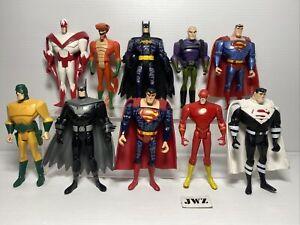 """2003 DC universe Justice league Unlimited 5"""" Fig, Batman superman, etc - Bundle"""