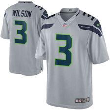 Nike Seattle Seahawks Russell Wilson #3 Limited Alternate Jersey Men's L