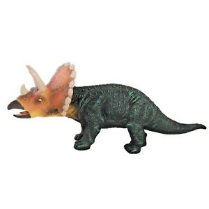 """17""""  Soft Stuffed Rubber Dinosaur Triceratops Play Toy Jurassic Realistic Toys"""