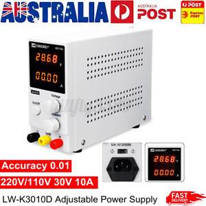 10A 30V 300W DC Power Supply Adjustable Precision Digital Variable Lab Grade AU