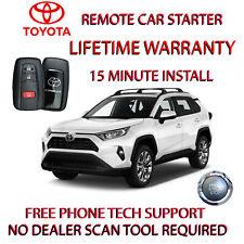 Fits: 2021 Toyota Rav4 Remote Start Plug And Play Car Starter