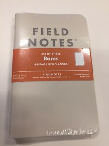 Field Notes Rams Limited Edition