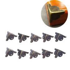10pcs Furniture Bronze Metal Corners Jewelry Box Case Corner Protector