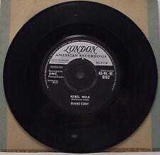 "DUANE EDDY : REBEL WALK 7"" Vinyl Single 45rpm VG+"