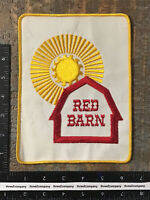 Vintage RED BARN Farming Agriculture Feed Seed Large Jacket Patch