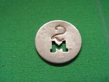 Kentucky Coal Scrip Token 5¢ Mahan Jellico Coal Co.-Packard-KY-Whitley County