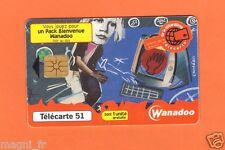Télécarte - WANADOO  (A3568)