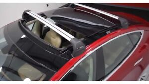 NEW Tesla Roof Rack System Panoramic Glass Roof - Tesla Model S