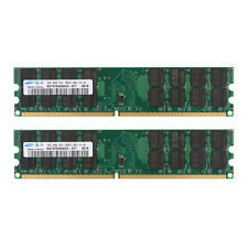 Samsung 8GB Kit (2x 4GB) DDR2-800MHz PC Desktop Memory PC2-6400 DIMM Ram For AMD