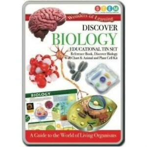 Discover Biology Educational Science Kit In a Tin Set NEW