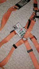 Karlie Xl Dog Harness and Lead Set in Orange 60-90 cm chest