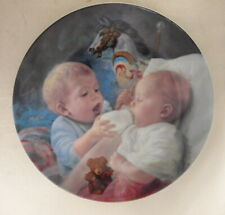 """Vintage Artaffects """"Christopher And Kate"""" Plate By Mago 1989 #1371A Coa Included"""
