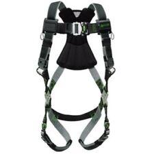 NEW Honeywell Miller RDT-QC-BDP/UBK Revolution Full Body Harness Black & Green