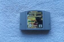COMMAND & CONQUER NINTENDO 64 N64 FAST POST V.G.C. FAST POST ( games cart only )