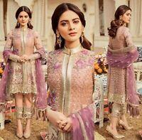 Pakistani Imrozia Maria B Collection Designer Suit Wedding Dress Shalwar Kameez