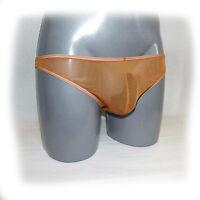 837 Glanz Slip Transparent  Der erotische Slip für den Mann Size:L