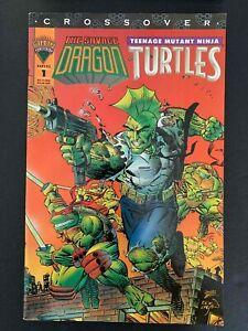 SAVAGE DRAGON TEENAGE MUTANT NINJA TURTLES #1  MIRAGE STUDIOS COMICS 1993 VF