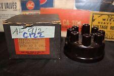 Vintage NOS (K15) Lion Auto Parts Distributor Cap AU-88 C122 1963 -47 Hudson Blk