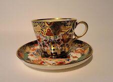 Antique Copeland Spode D7911 Imari Cup and Saucer Duo