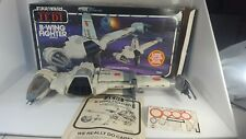 Vintage Star Wars ROTJ B-Wing Fighter 100% complete WORKS w. Box & Instructions