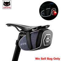 Cateye Saddle Bag Bike Bicycle Bag Storage Cycling Seat Pouch Rear Tail Tool Bag