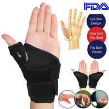 Wrist Thumb Support Hand Palm Brace Carpal Tunnel Arthritis Compression Gloves S