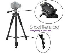 """Super Durable 75"""" Tripod With Case for Sony FDR-AX33"""