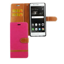 Huawei P9 Lite Hülle Case Handy Cover Schutz Tasche Schutzhülle Bumper Etui Pink