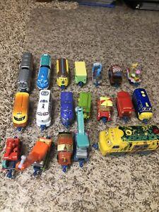 Chuggington 19 piece train lot with trailers
