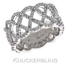 Wedding Not Enhanced White Gold Fine Rings