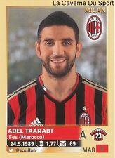 ADEL TAARABT # MOROCCO AC.MILAN RARE UPDATE STICKER CALCIATORI 2014 PANINI