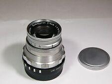Summicron 2/50mm Leitz lens with micro 4/3 or NEX mount LUMIX Black Magic BMPCC