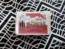 PH Smoke Matches, 12 In A Box